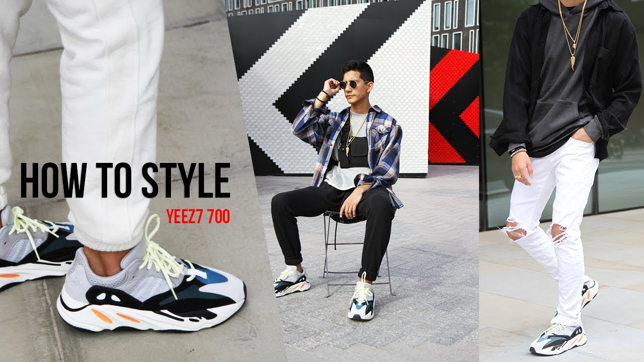 HOW TO STYLE YEEZY WAVE RUNNER