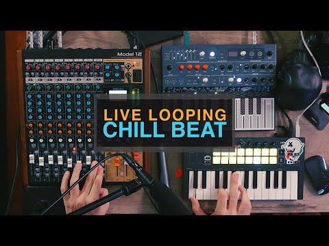 Ableton Live Looping Performance | TASCAM Model 12, Novation Launchkey Mini, and Arturia Microfreak