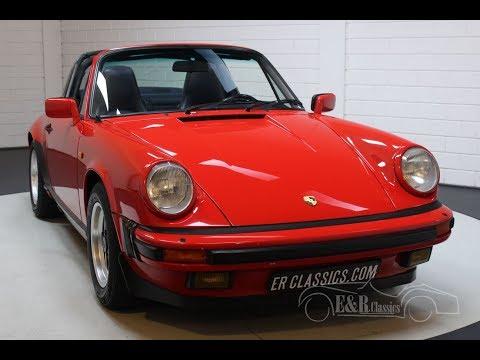 Porsche 911 3.2 Targa 1985 -VIDEO- Www.ERclassics.com