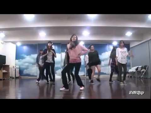 SNSD tiết lộ clip tập nhảy