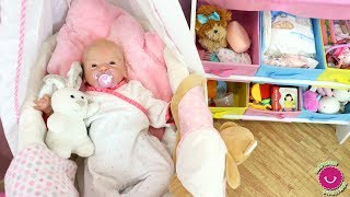 Rutina de todo el día de la bebé Lindea Reborn en Sorpresas Divertidas thumbnail
