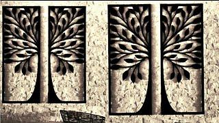 Amazing Diy Home Decor Wall Art Using Cardboard