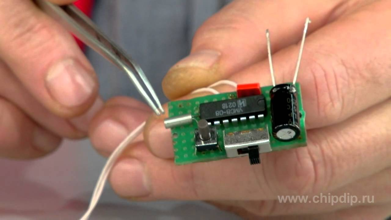 Musical doorbell built on microcircuit   YouTube