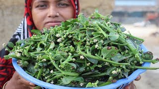 Gambar cover Village Food Farm Fresh Malabar Spinach Seeds Recipe Healthy Fresh Malabar Spinach Seeds Fry Cooking