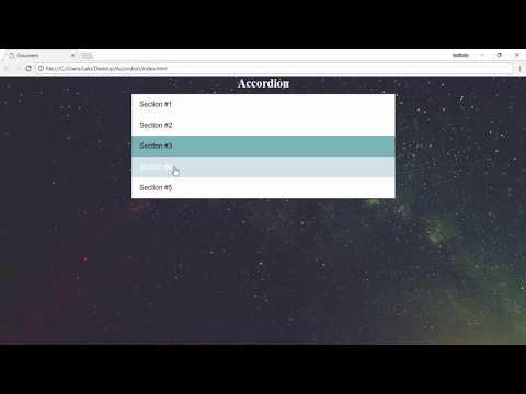 Speed Code - Accordion  - HTML | CSS | JS