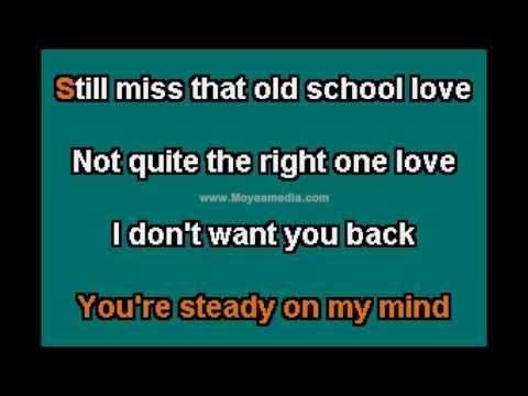 Divine Brown   Old Skool Love LG HD Karaoke PK02458