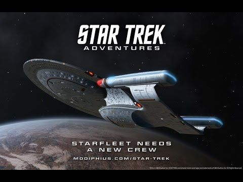 Star Trek Adventures RPG - Alpha playtest 1.2 -  Part 2 - Ravine and poisonous fields
