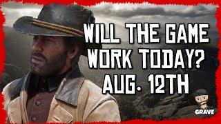 Still Broken Today? Red Dead Online Status August 12th 2020