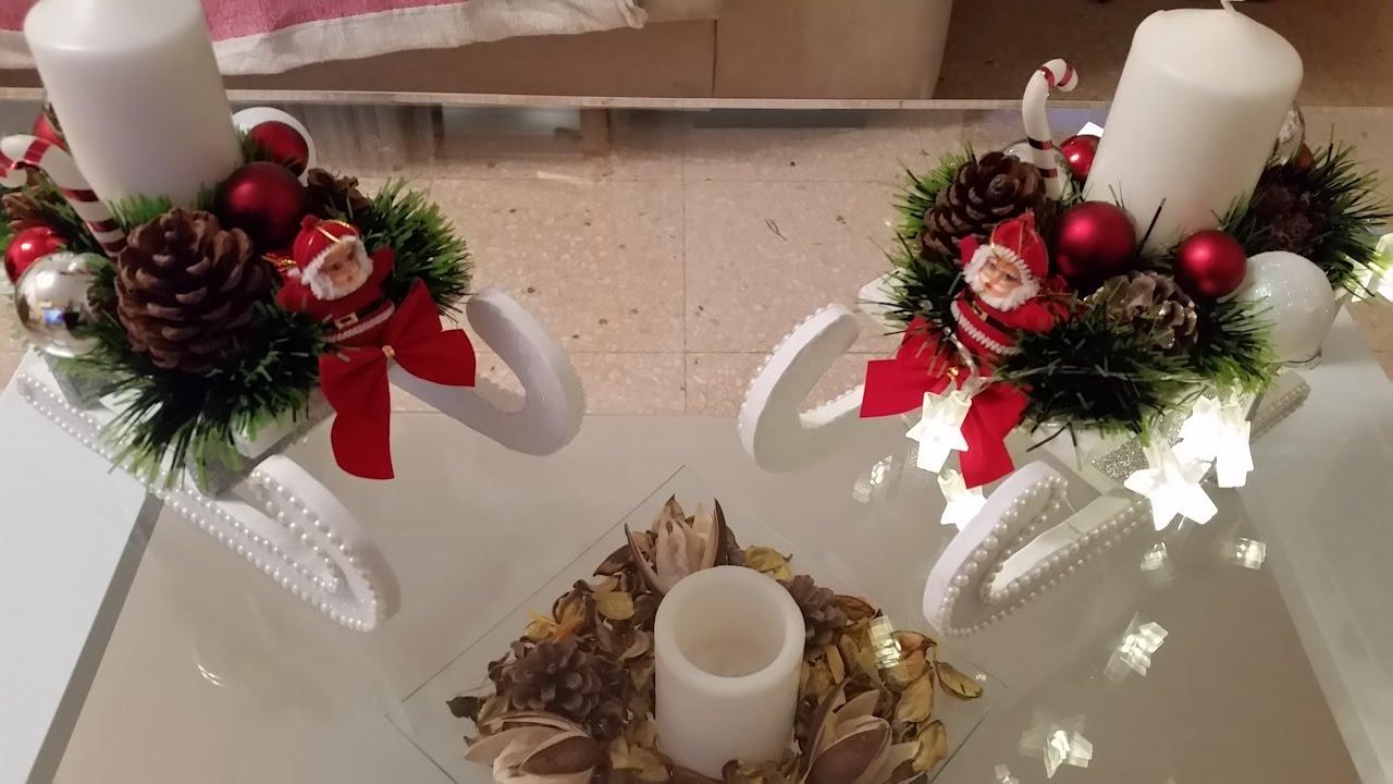 Como hacer un trineo de centro de mesa para esta noche - Hacer centros de navidad ...