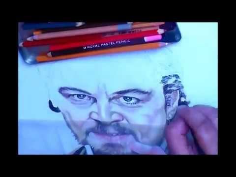 calvin drawing django livre desenho leonardo dicaprio youtube