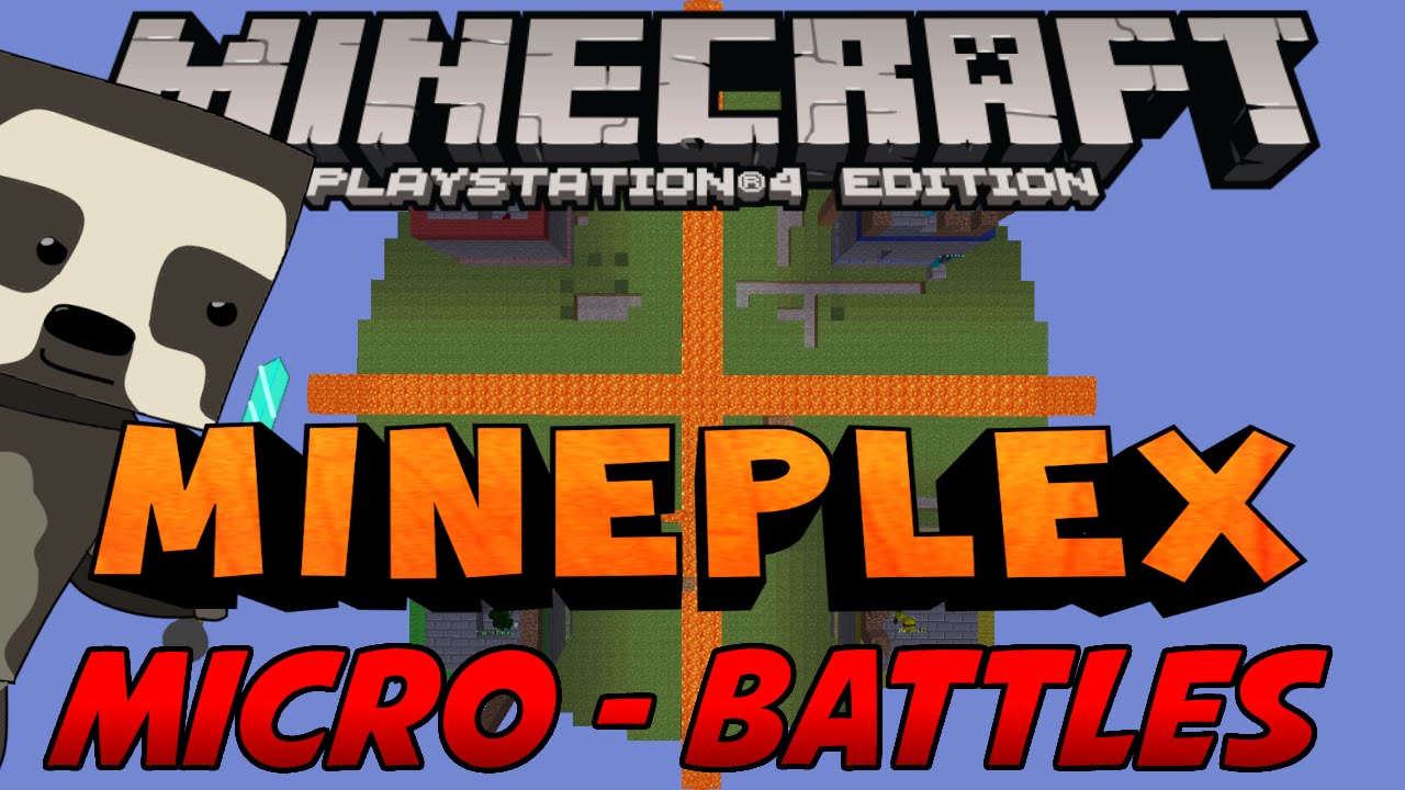 how to make mineplex micro battles on minecraft console. Black Bedroom Furniture Sets. Home Design Ideas