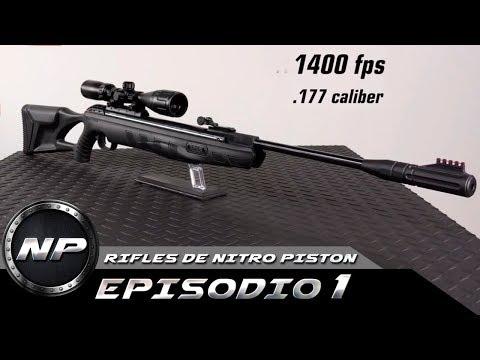 El Rifle De Aire Comprimido (NITRO PISTON) Mas Potente | Ep. 01