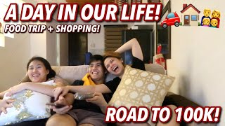 A DAY IN OUR LIFE! ANG AMING TUNAY NA BUHAY! FOOD TRIP + SHOPPING | VLOG#95 Candy Inoue ♥️