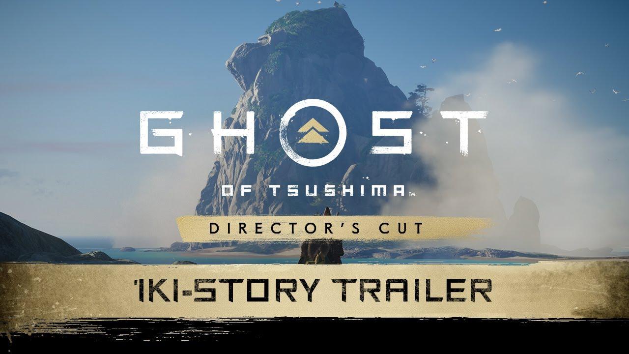Ghost of Tsushima Directors Cut - Iki Island Trailer   PS5, PS4