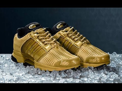 """reputable site 966b1 8c3a6 Unboxing  adidas ClimaCool 1 """"Precious Metals"""" Pack - Gold -"""