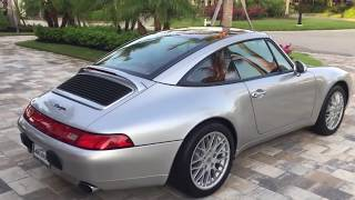 1998 Porsche 911 Carrera Targa (993) Review and Test Drive by Bill - Auto Europa Naples