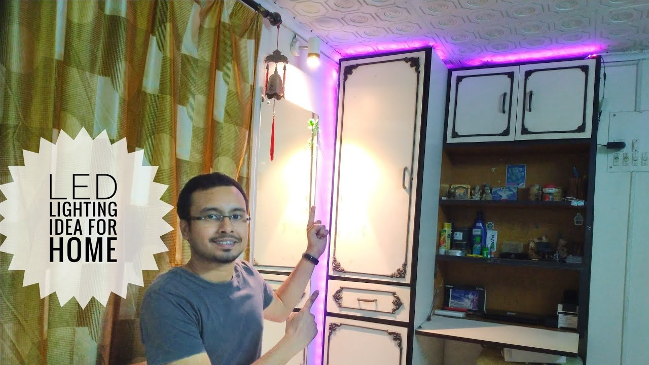 LED Lighting Ideas For Home | LED lights Decorations in my home