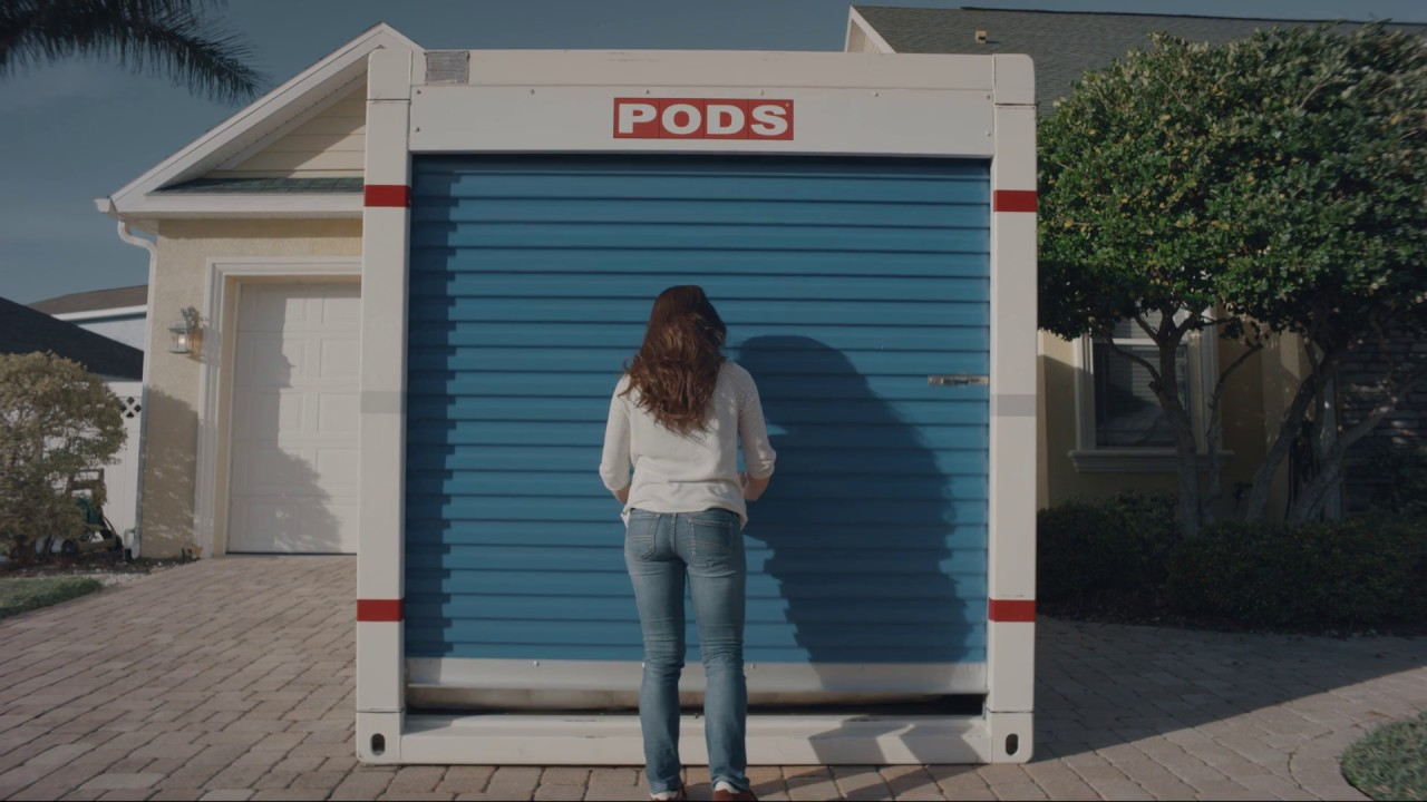 Pods Moving And Storage >> What Fits in a 16-Foot PODS Container - YouTube