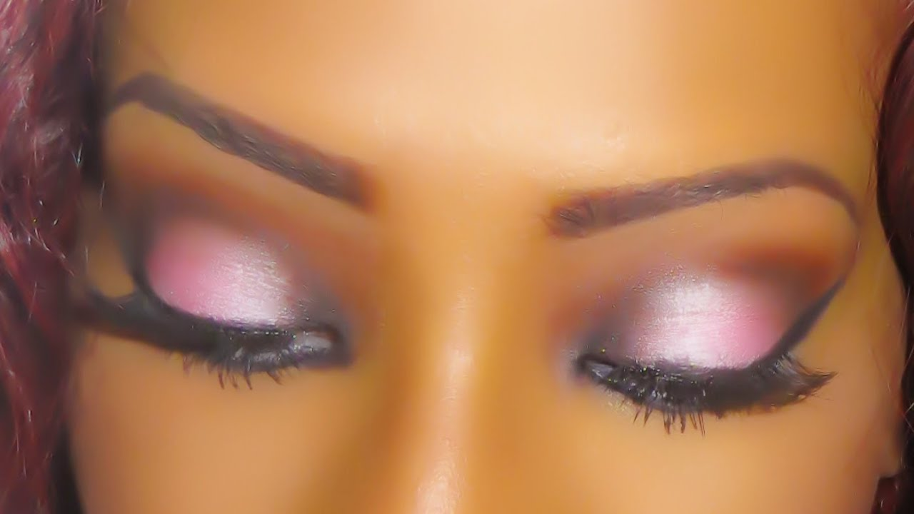 Evening make-up for brown eyes: 5 ideas