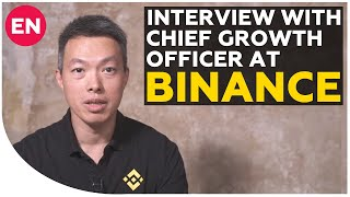 Ted Lin - about Binance DEX, BNB coin and future of crypto exchange   Interview with CGO at Binance
