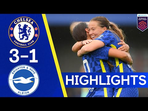 Chelsea 3-1 Brighton    The Blues have three wins on the rebound!     WSL highlights