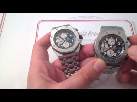 Audemars Piguet Royal Oak Offshore 26470ST Luxury Watch Review