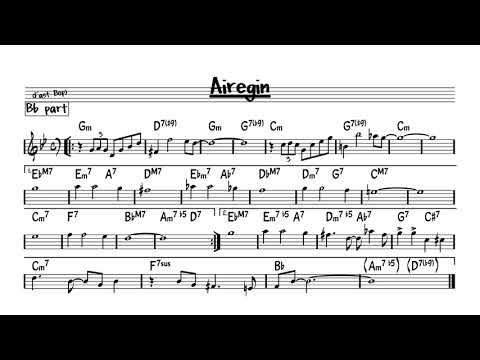 Airegin - Play along - Bb version