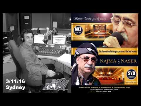 Mostafa Khalil - Radio 2000fm interviews two Kurdish singers, Nasser Razazi and Najmi Ghulami