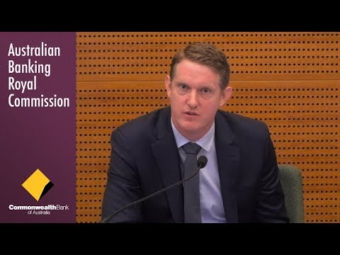 CBA's Head of Home Lending testifies at the Banking Royal Commission