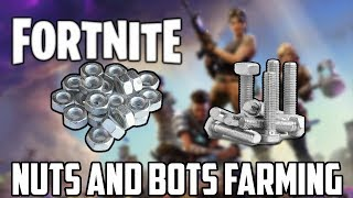 (Patched) How To Farm Nuts And Bolts Fast In Fortnite | Fortnite Farming Guides