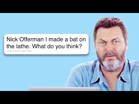 Nick Offerman Goes Undercover on Twitter, YouTube, and Reddit  Actually Me  GQ