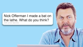 Video Nick Offerman Goes Undercover on Twitter, YouTube, and Reddit | Actually Me | GQ download MP3, 3GP, MP4, WEBM, AVI, FLV Juli 2018