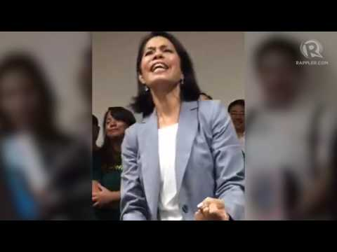 Gina Lopez sings 'I Believe I Can Fly'