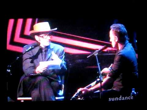 Bruce Springsteen on Spectacle with Elvis Costello  Part 1b