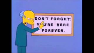 Don't Forget, you're here Forever
