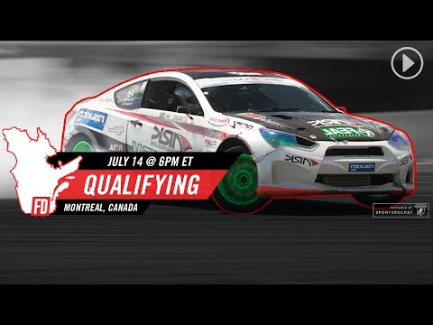Network A Presents: Formula Drift Montreal - Qualifying Round LIVE!