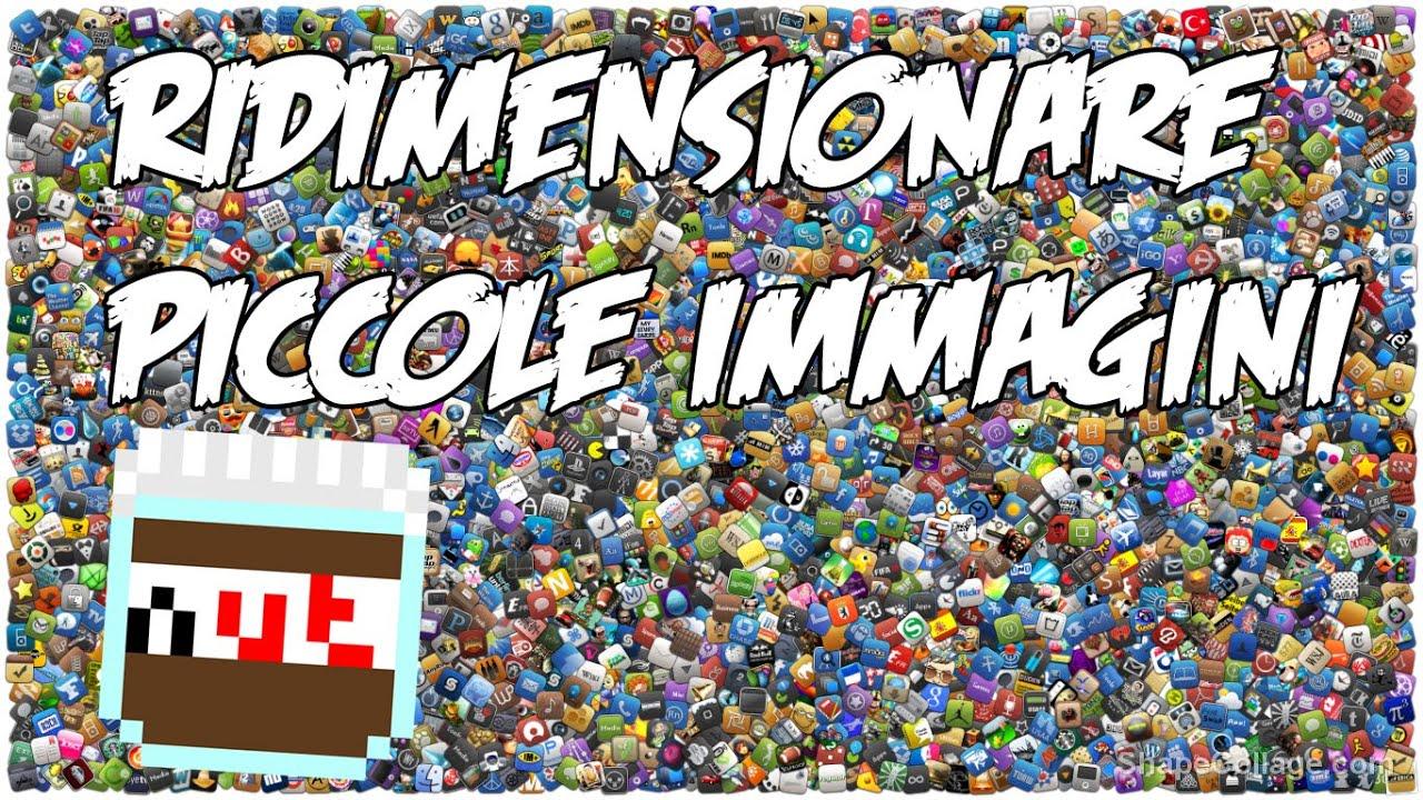 Ridimensionare immagini - YouTube
