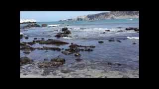 Ensenada de San Fernando, Nazca-PERU サン・フェルナンド保護区の美しい浜