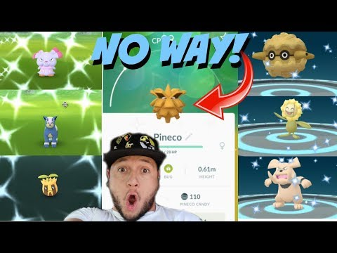 I CAUGHT 5 *NEW SHINY* POKEMON IN *ONE DAY* NO WAY MY LUCK IS LIKE NO OTHER! (POKEMON GO) thumbnail