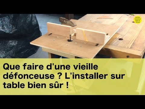 que faire d 39 une vieille d fonceuse youtube. Black Bedroom Furniture Sets. Home Design Ideas