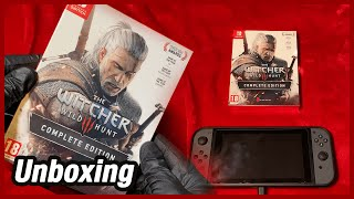 The Witcher 3 Complete Edition Nintendo Switch Unboxing & First Impressions