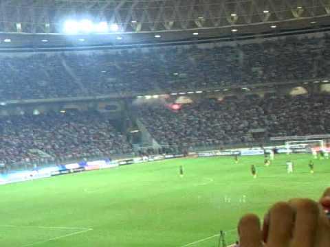 match international tunisie - cameroun au stade olimpique de Radès