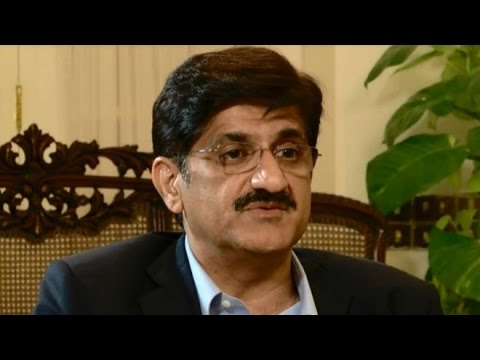 Interview with Syed Murad Ali Shah, CM Sindh