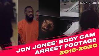 Jon Jones Body Cam Arrest Footage | 2015-2020
