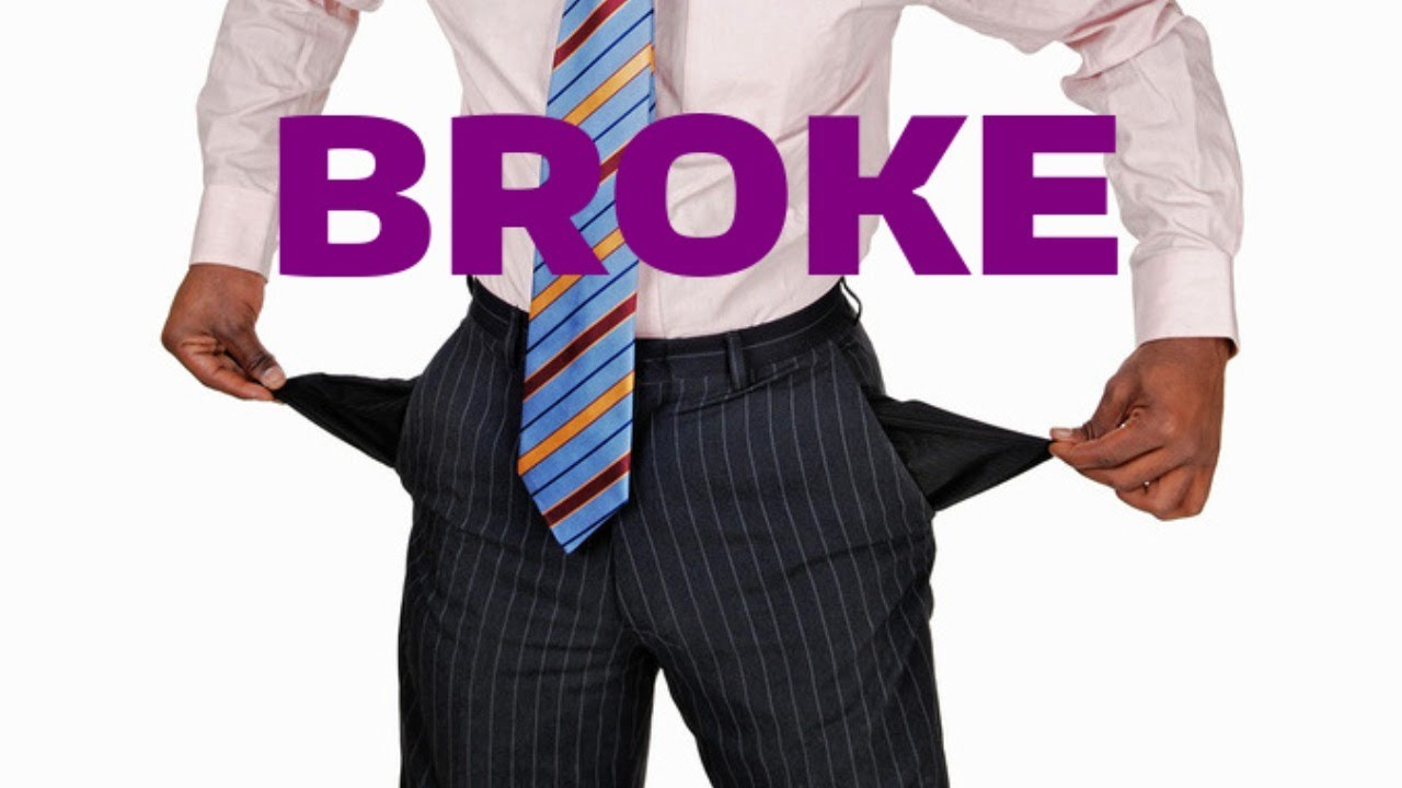 When Broke Is An Insult