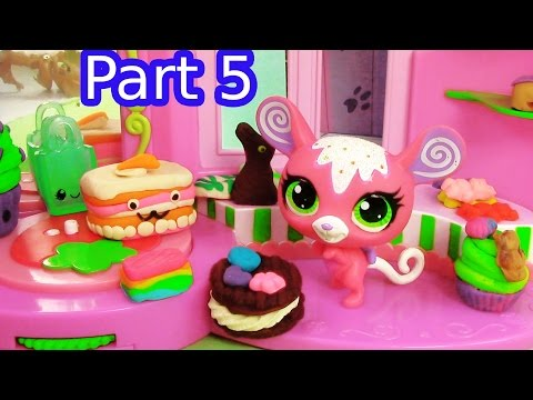 LPS Cake Shop Stop - Diva Dahhhhling - Littlest Pet Shop LPS Series Part 5 Video