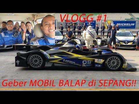 Geber 4 Mobil Balap Di Sepang!! | VLOG #1