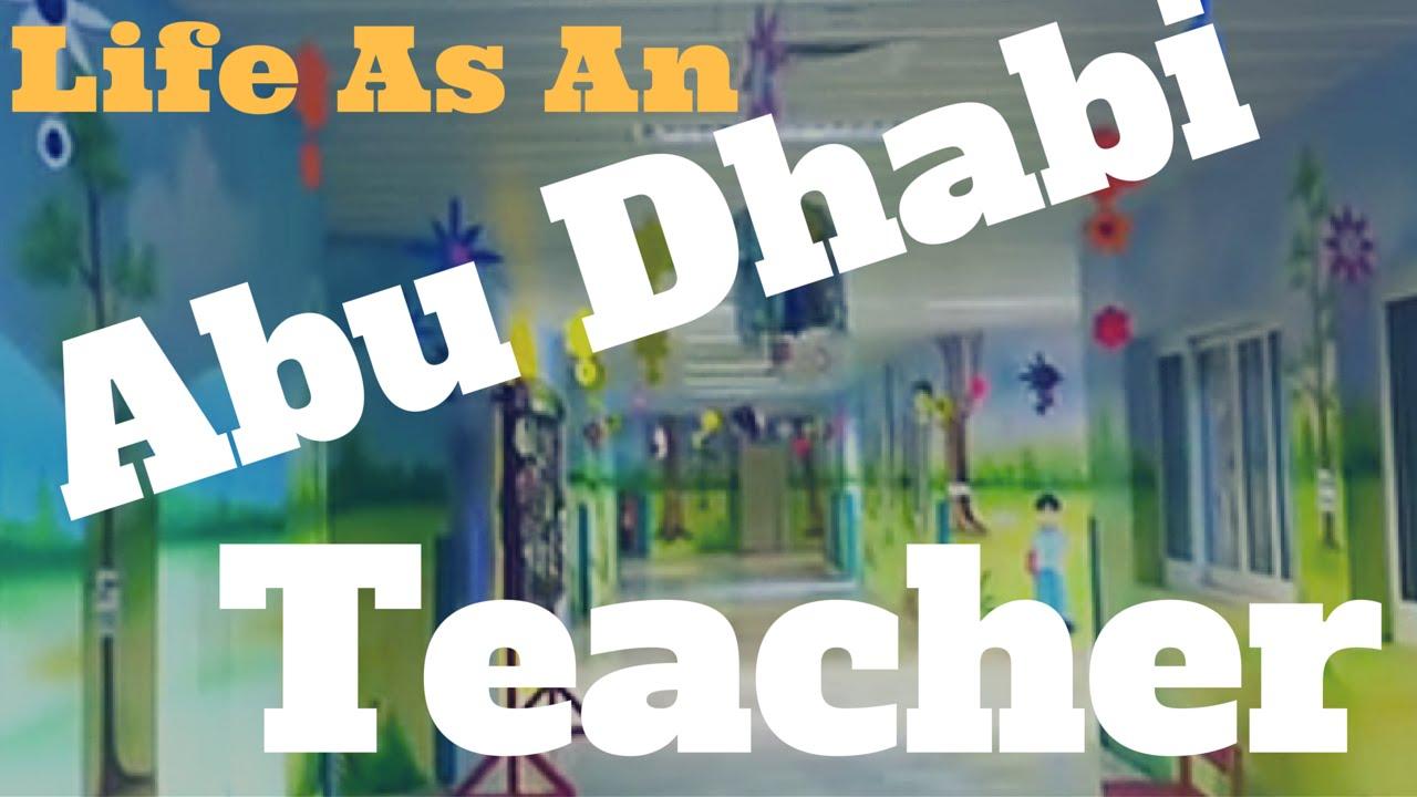 Life as an Abu Dhabi teacher - YouTube