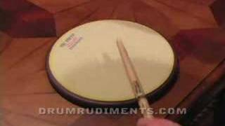 Drum Rudiments #36 - Drag Paradiddle #1 - DrumRudiments.com