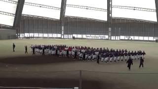 第12回東北中学校選抜野球大会入場行進